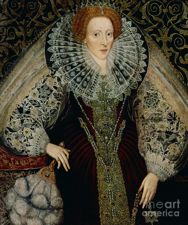 Queen Painting - Queen Elizabeth I by John the Younger Bettes