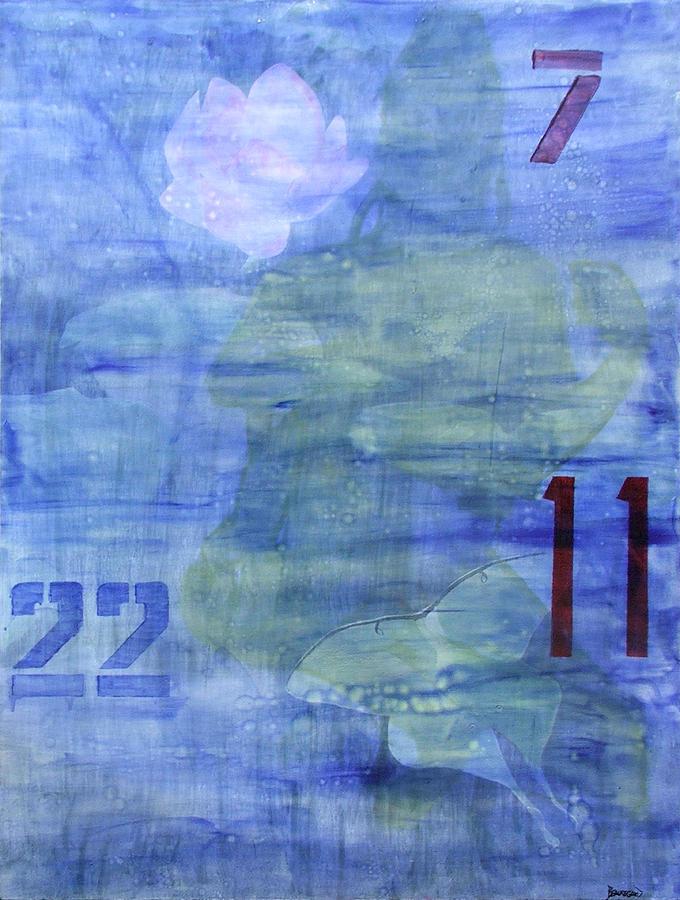 Abstract Painting - Quest by Ellen Beauregard