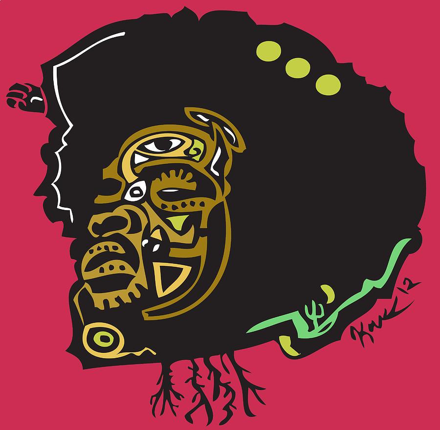 Theroots Digital Art - Questlove  by Kamoni Khem