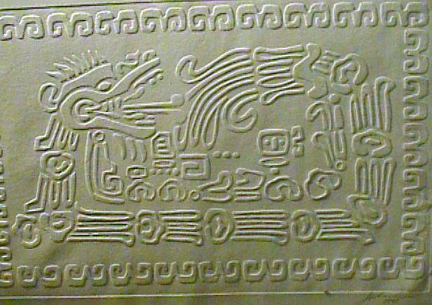 Mexican Relief - Quetzalcoatl by Jubamo