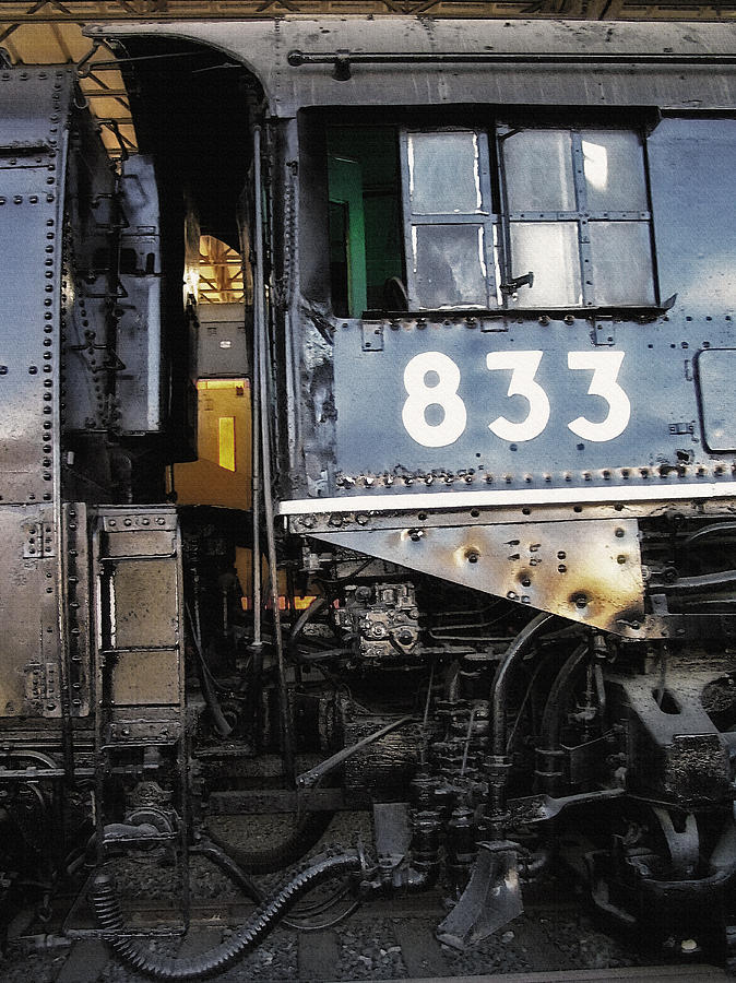 Trains Photograph - Railroad Museum 3 by Steve Ohlsen