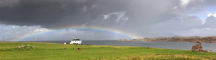John Photograph - Rainbow, Island Of Iona, Scotland by John Short