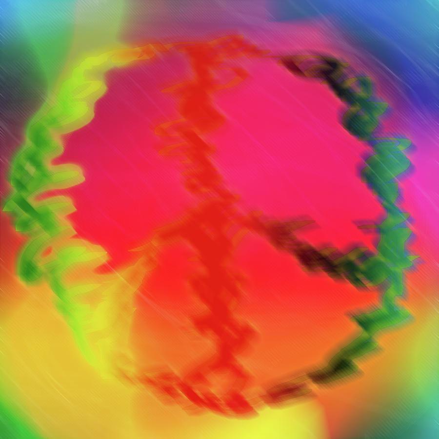 Digital Art Digital Art - Rainbow Peace by Adam LeCroy