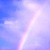 Rainbow Photograph - Rainbow by Radical Reconstruction Fine Art Featuring Nancy Wood