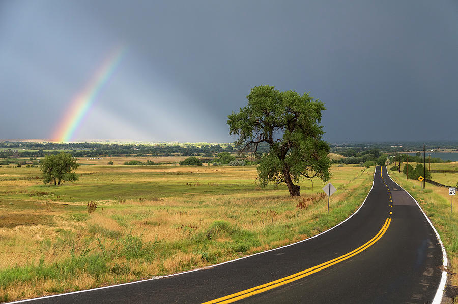 Rainbow Road Photograph