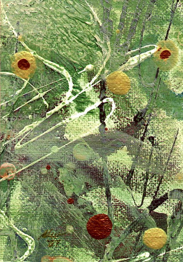 Greenery Mixed Media - Rainforest by Angela L Walker