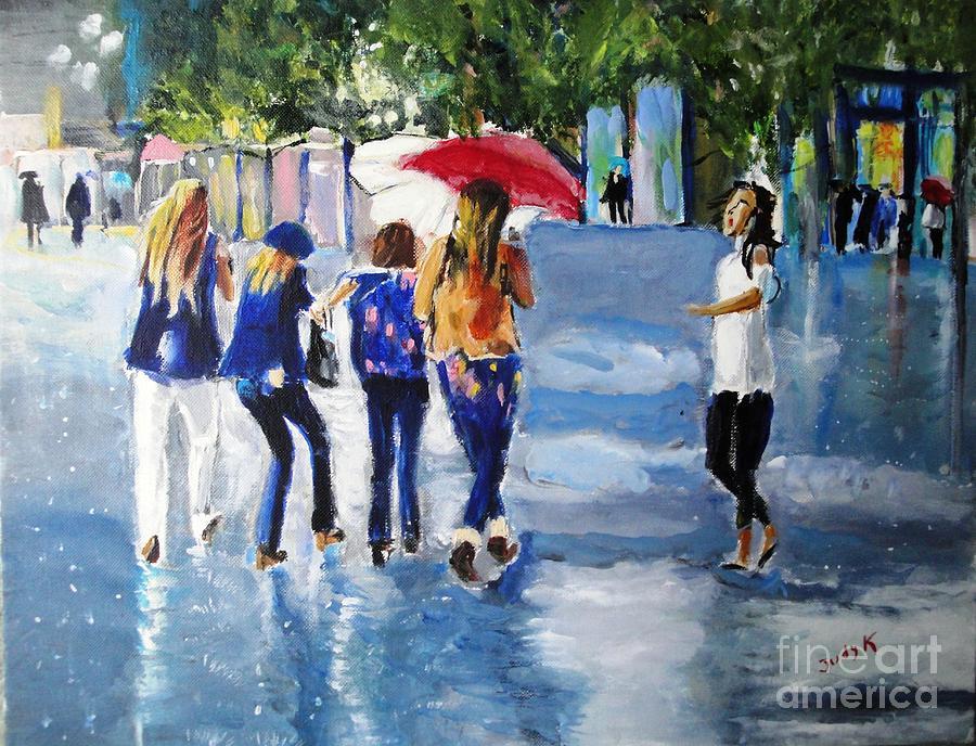 Rainy Days And Mondays Painting
