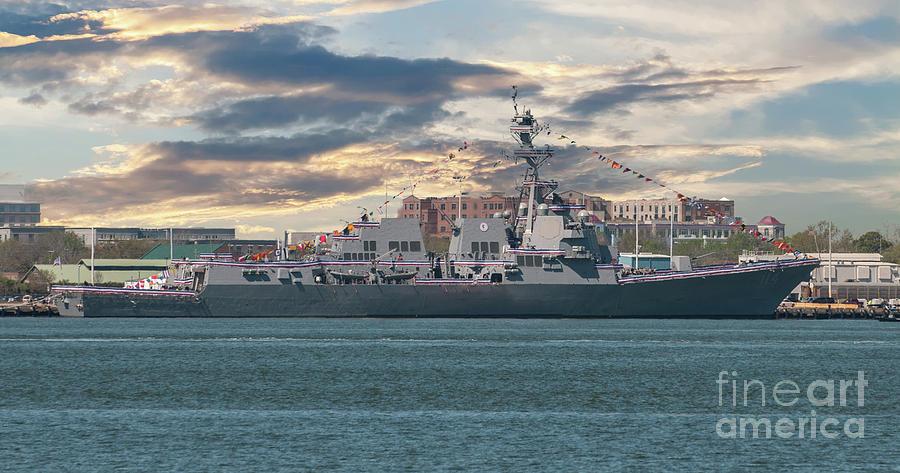 Ralph H Johnson Navy Warship Photograph