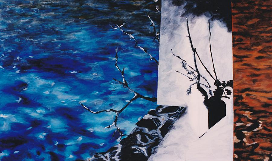 Acrylique Sur Toile Painting - Ramification by Hatin Josee