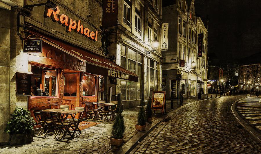 Night Photograph - Raphael by Torkil Storli