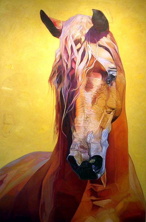 Animals Painting - Rapunzel by Patrick Webster