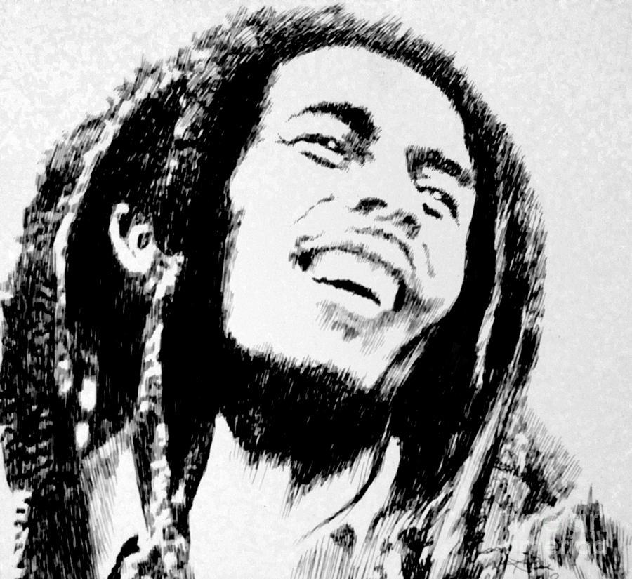 Rasta Man Drawing