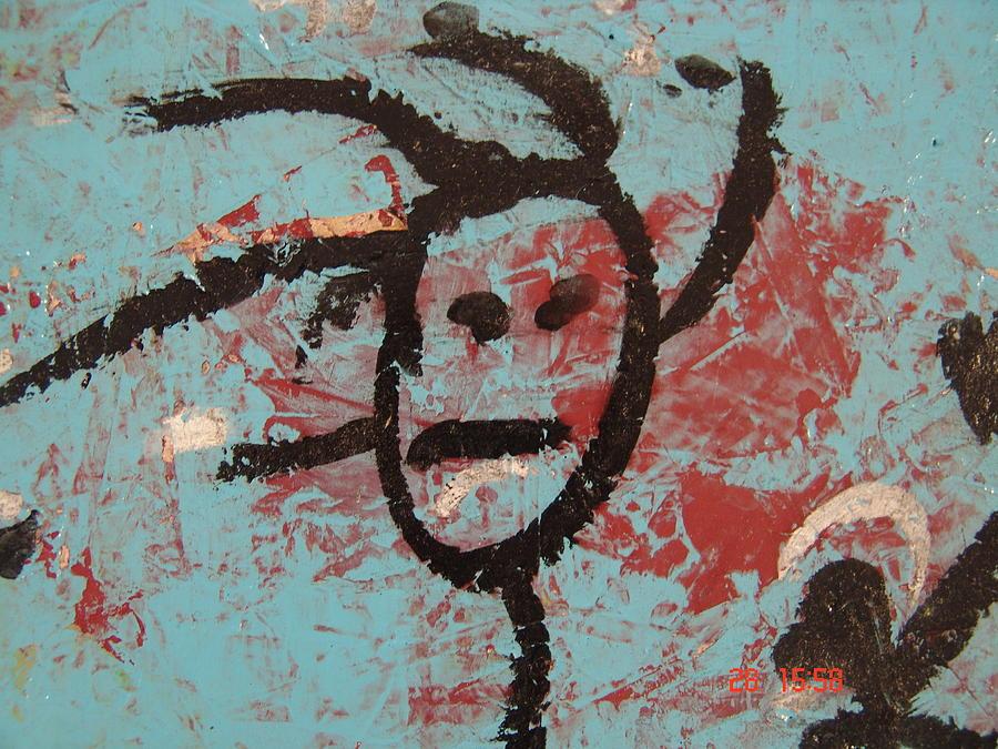 Face Pastel - Rastaman by Pat  Lackenbauer