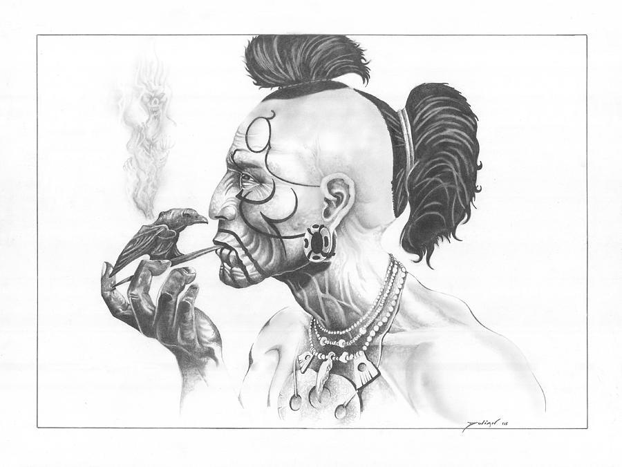 smoke drawings Gallery