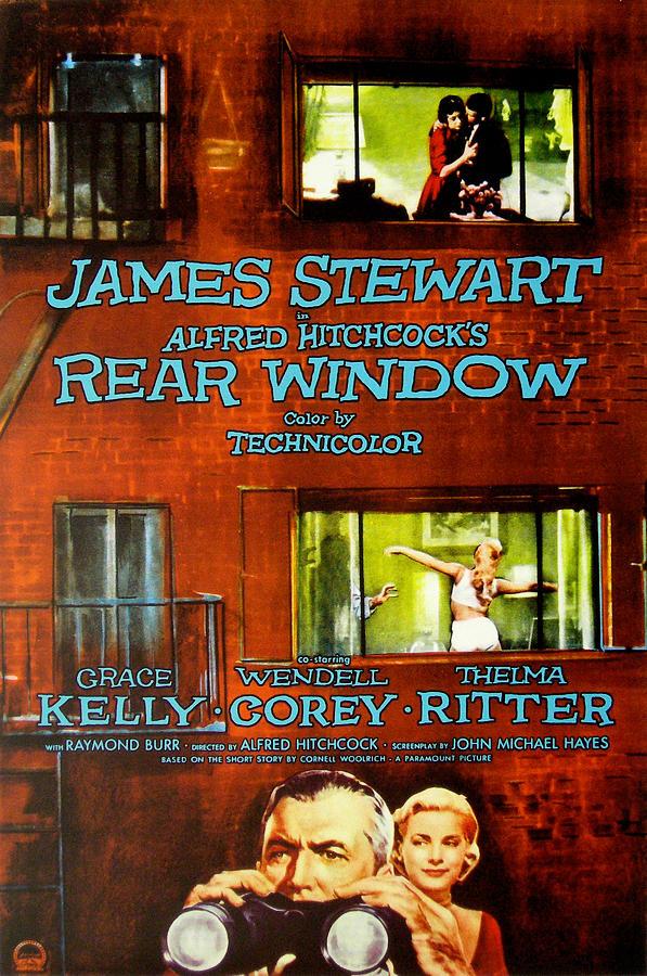 Rear Window, Grace Kelly, James Photograph