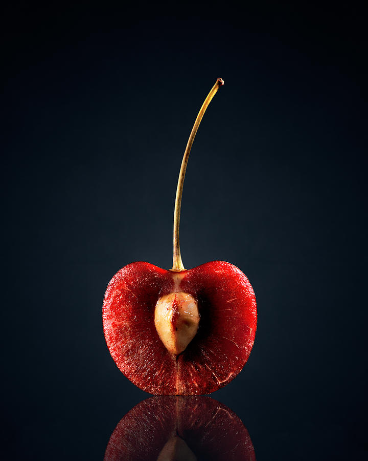 Red Cherry Still Life Photograph