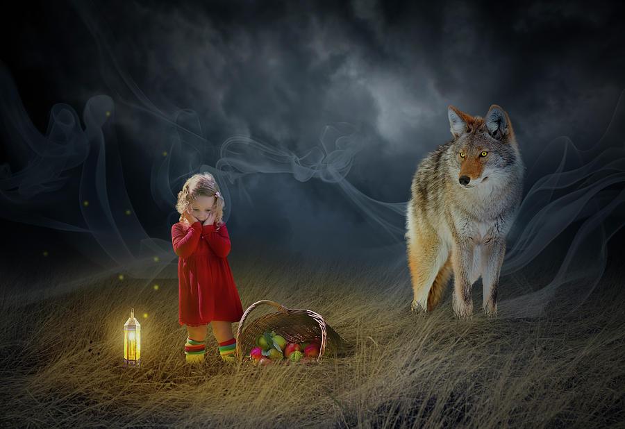 Red Riding Hood V2 Digital Art