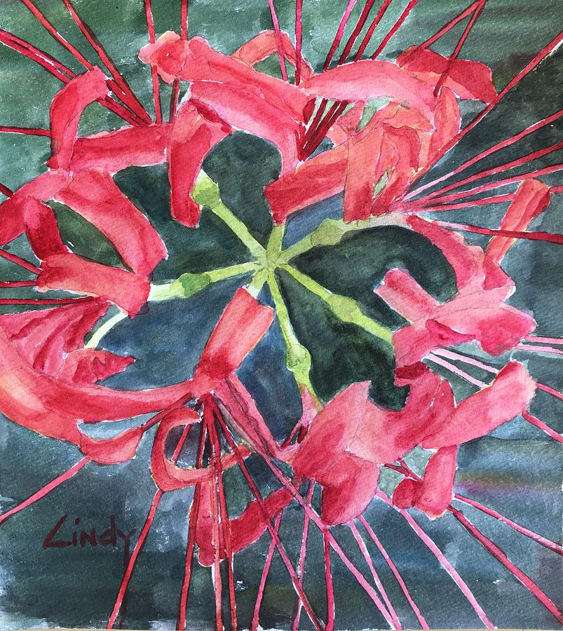 Red Spider Lily Art