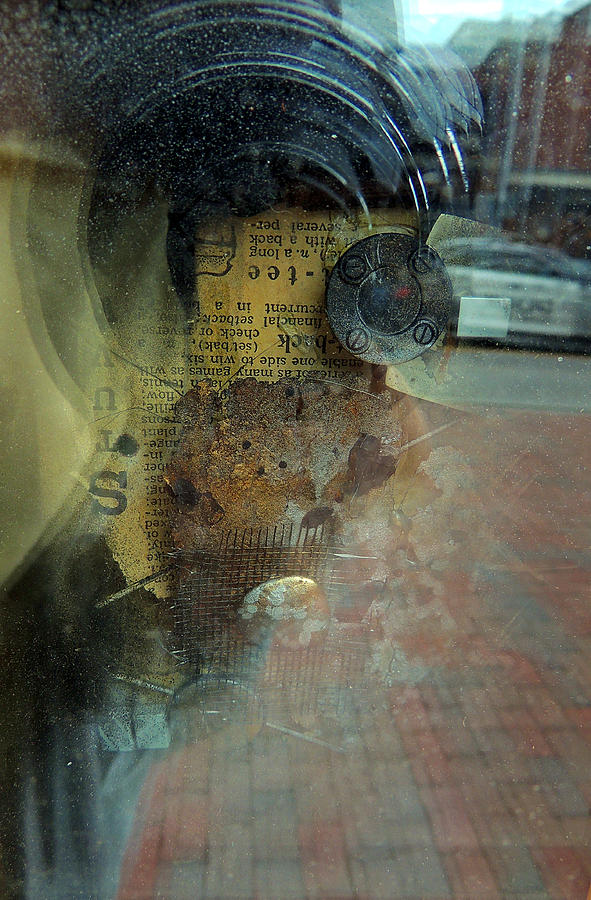 Abstract Photography Photograph - Reflection 1 by Marcia L Jones