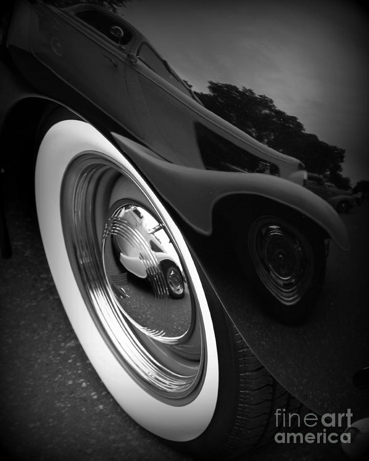 Car Photograph - Reflections 2 by Perry Webster