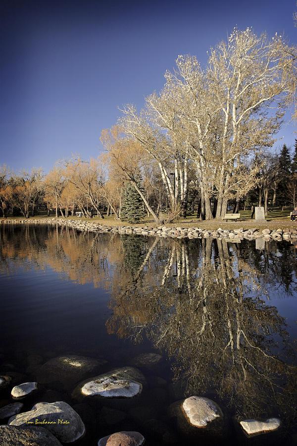 Henderson Lake Photograph - Reflections Of Henderson by Tom Buchanan