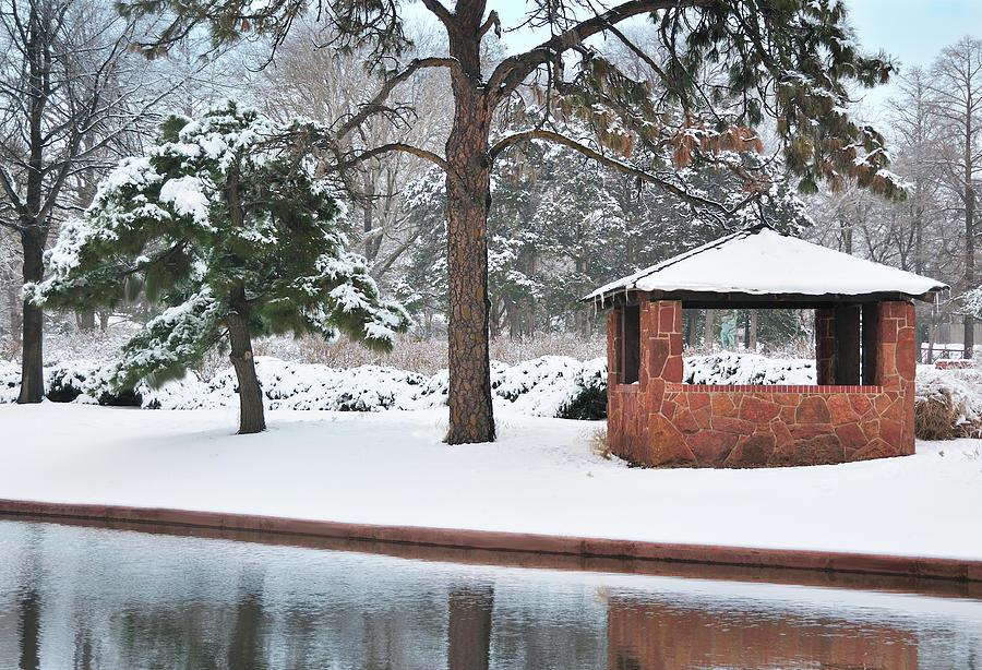 Reflections Of Winter Digital Art