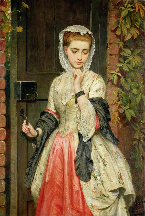 Rejected Painting - Rejected Addresses by Charles Sillem Lidderdale