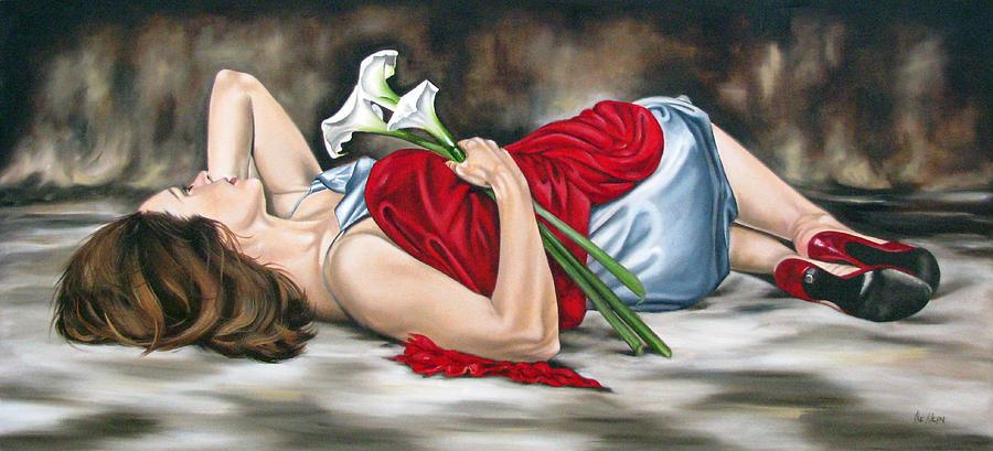 Christian Painting - Rejoice by Ilse Kleyn