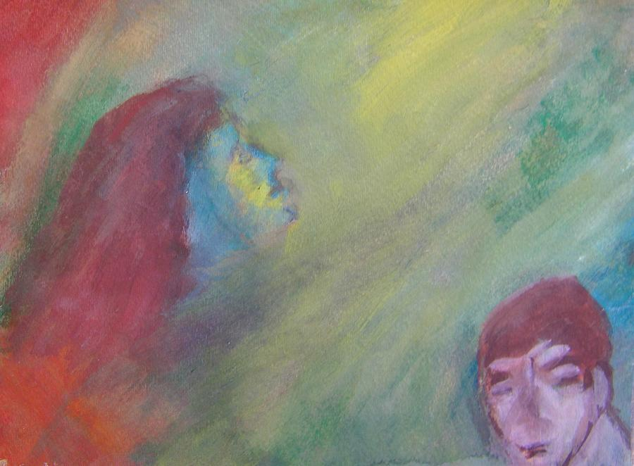 Abstract Painting - Religious Fanatic by Judith Redman