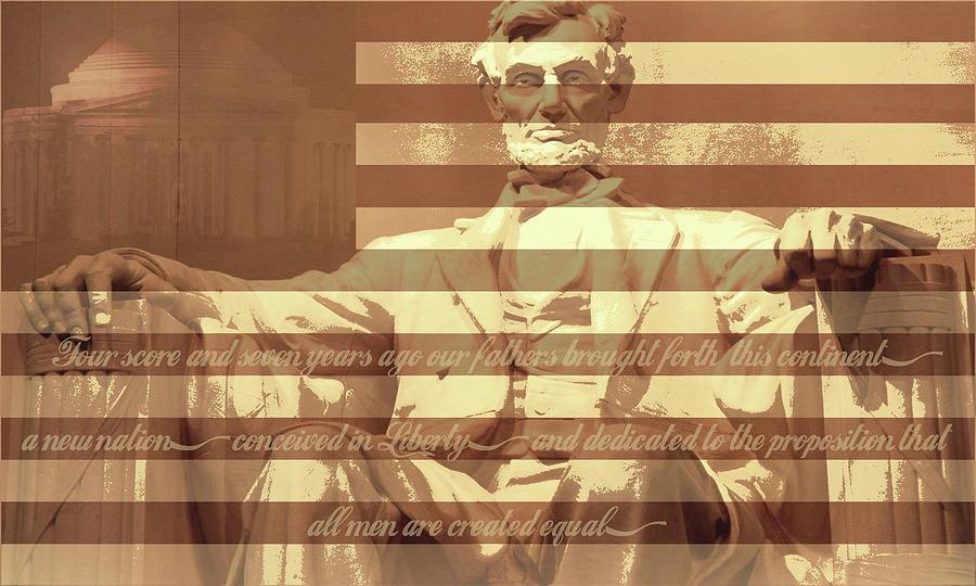Abraham Lincoln Digital Art - Remember Me by Christopher Adkins