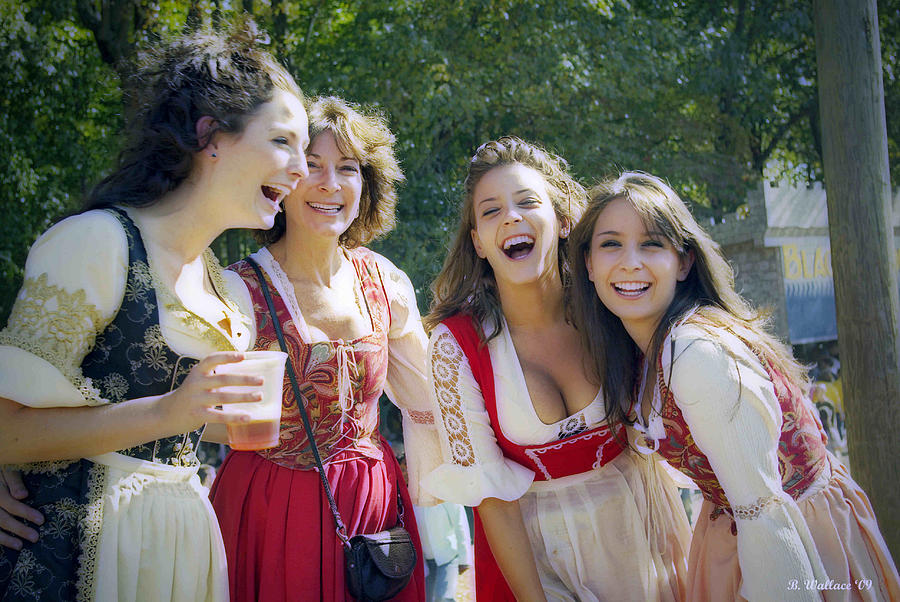 Renaissance Ladies Photograph
