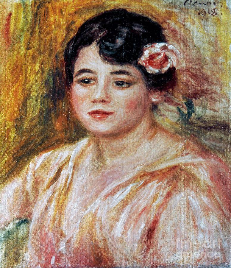 1918 Photograph - Renoir: Adele Besson, 1918 by Granger