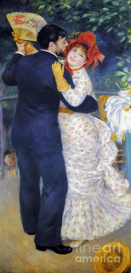 Renoir: Dancing, 1883 Photograph