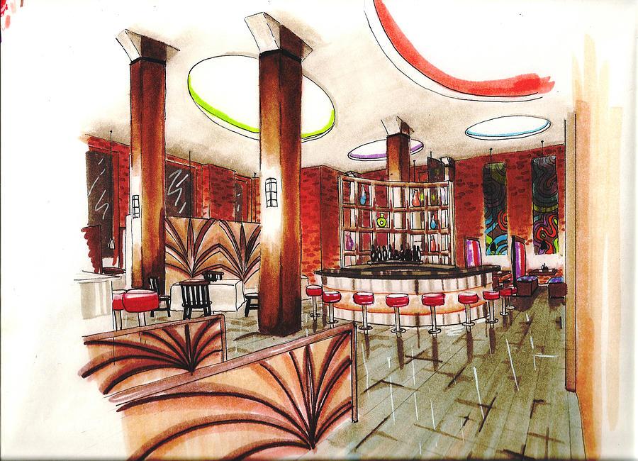Restaurant design by stephanie meyer