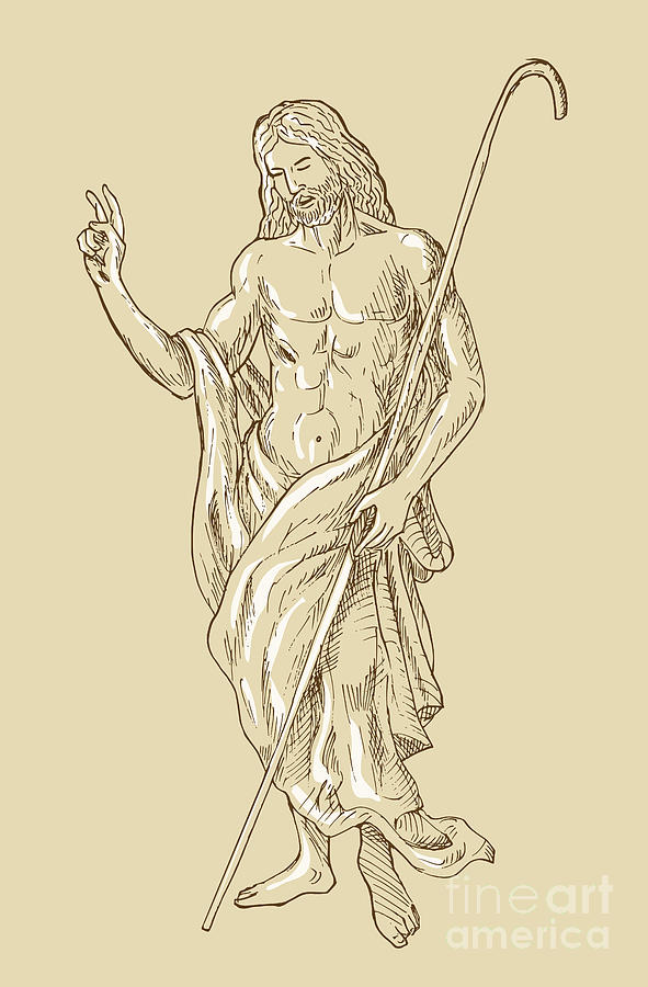 Jesus Digital Art - Resurrected Jesus Christ by Aloysius Patrimonio
