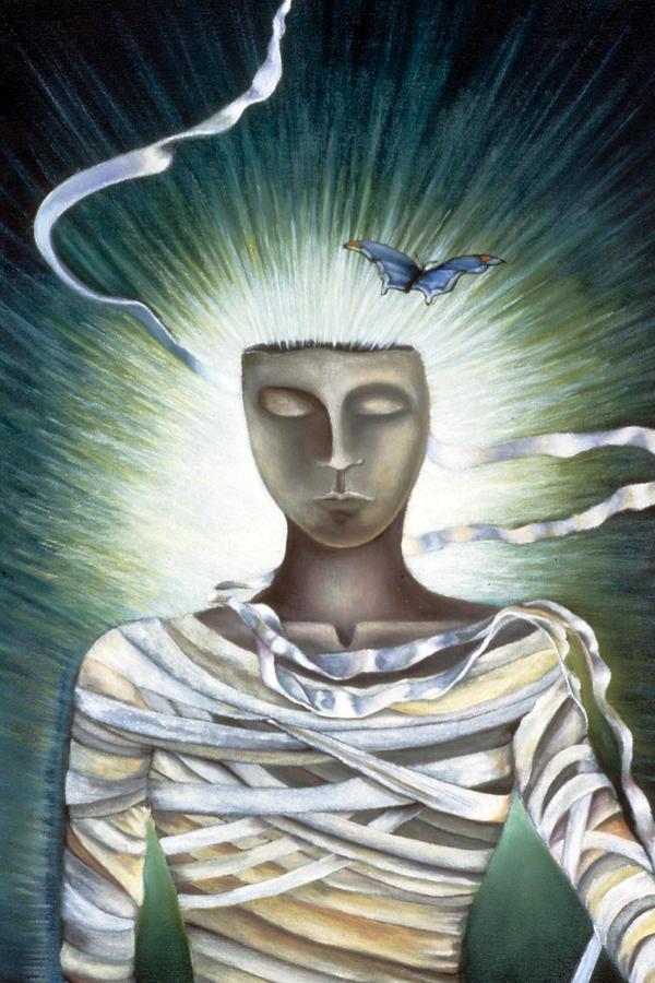 Surrealistic Painting - Resurrection by Gloria Cigolini-DePietro