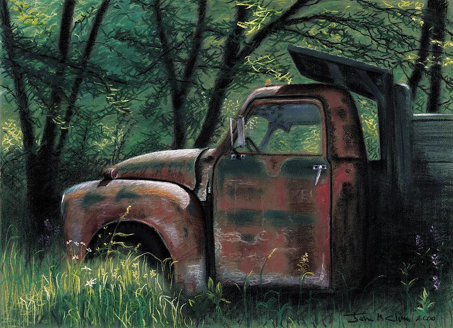 Retired Pastel - Retired by John Clum