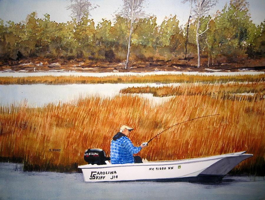 Landscape Painting - Retired by Shirley Braithwaite Hunt