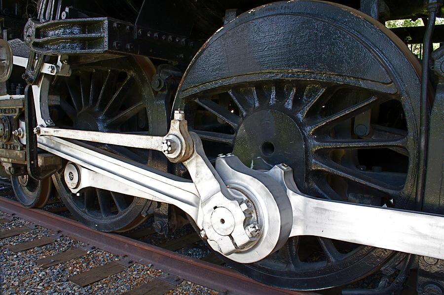 Retired Wheels Photograph