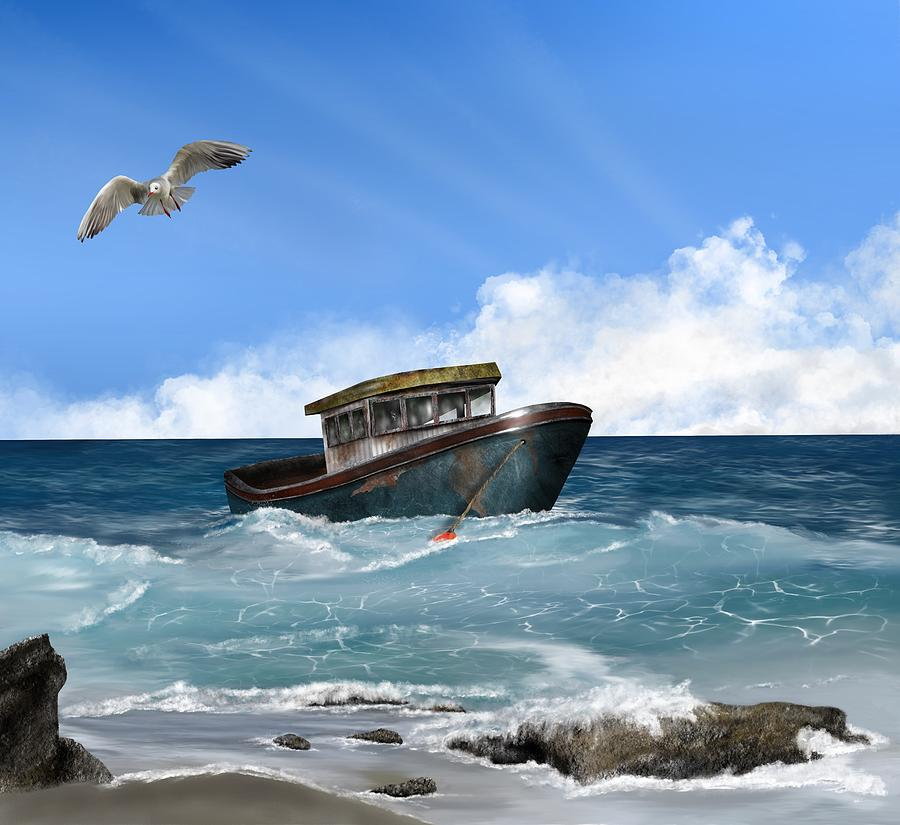 Retiring From The Fleet Digital Art