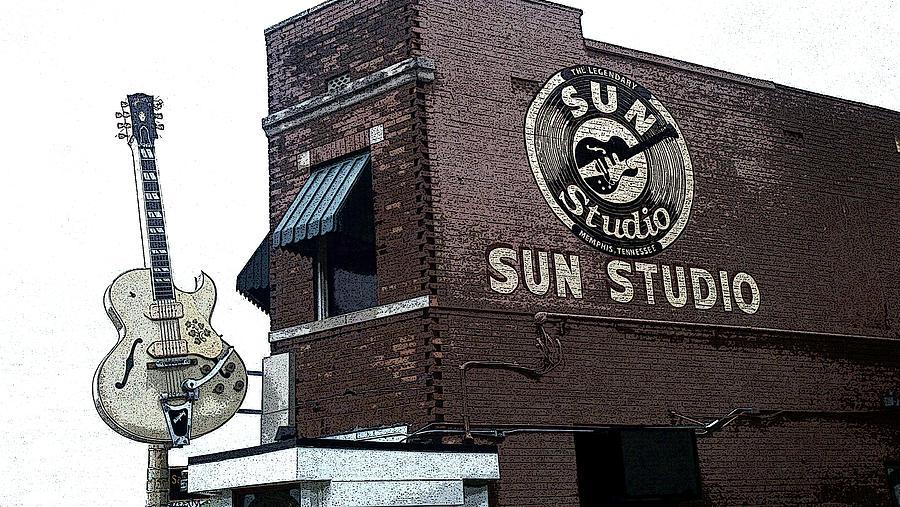 Retro Memphis Street Photograph