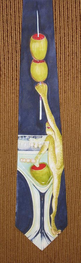 Frogs Painting - Return Of The Corporate Lunch by David Kelly