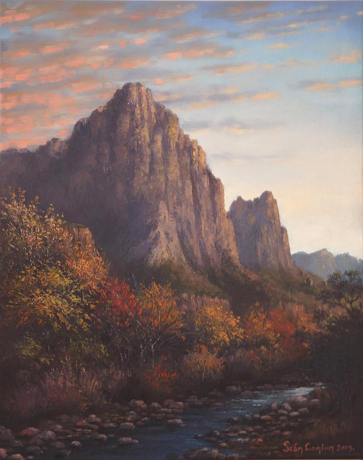 Landscape Painting - Return To Zion by Sean Conlon