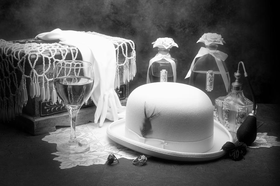 Hat Photograph - Revelry by Tom Mc Nemar