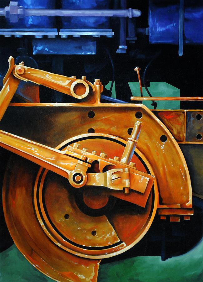 Machine Painting - Revolutions by Chris Steinken