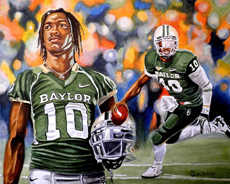 Robert Griffin Iii Painting - RG3 by Al  Molina