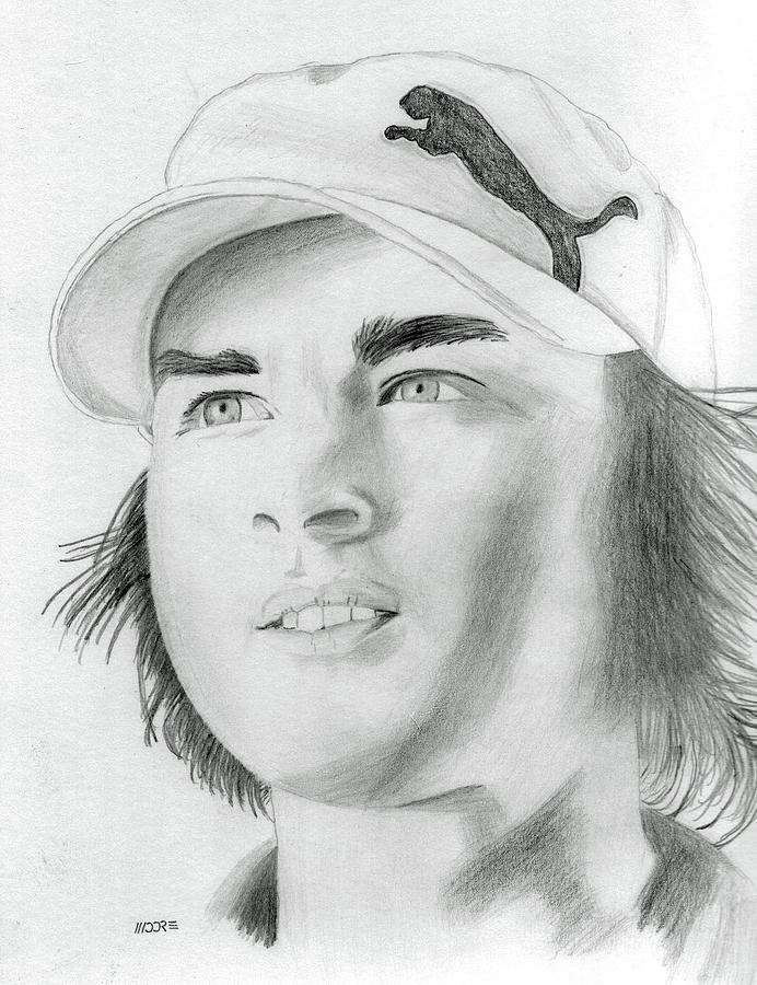 Rickie Fowler Photograph - Rickie Fowler by Pat Moore