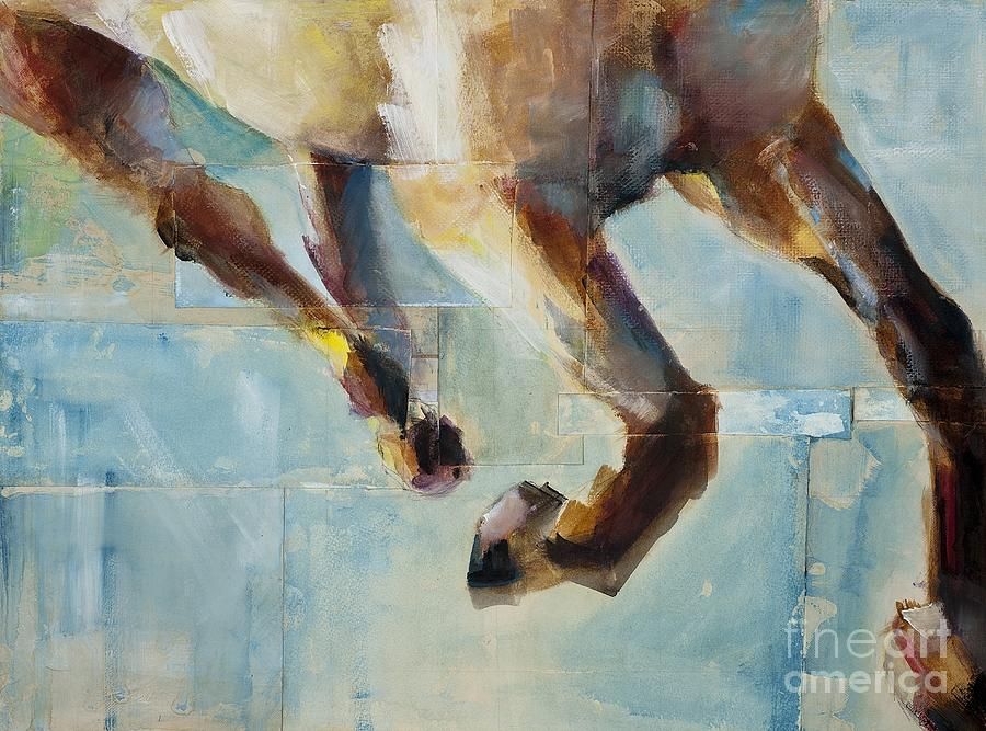 Horses Painting - Ride Like You Stole It by Frances Marino