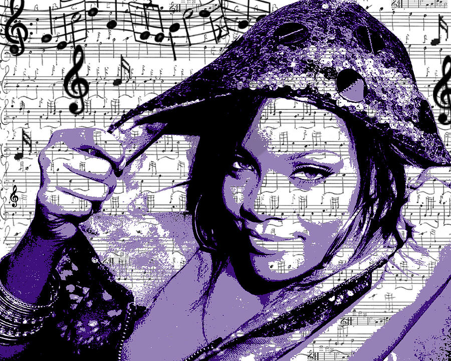 Rihanna Digital Art