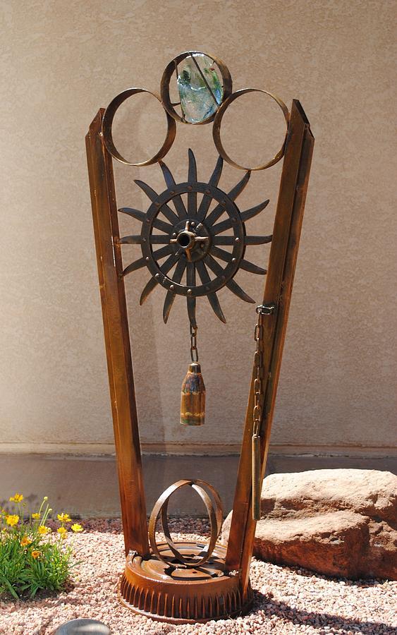 Metal Sculpture - Ring  My Bell by John Johnson